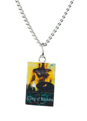 City of Bones Mortal Instruments Book Necklace - Dragon Dreads