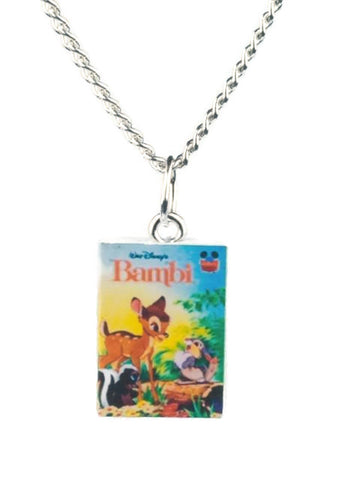 Bambi Book Necklaces