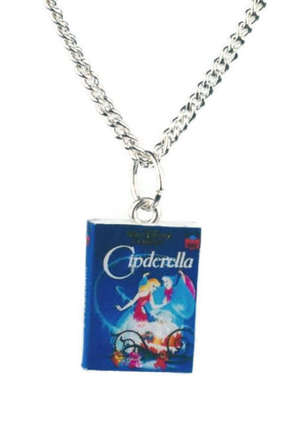 Cinderella Book Necklace - Dragon Dreads