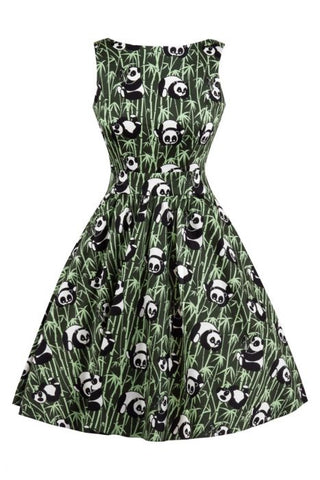 Panda tea dress- Lady Vintage
