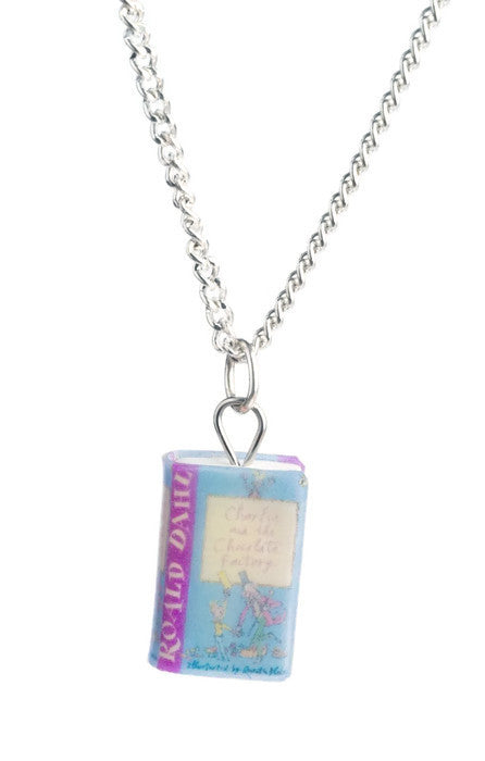 Deluxe Charlie And The Chocolate Factory Book Necklace