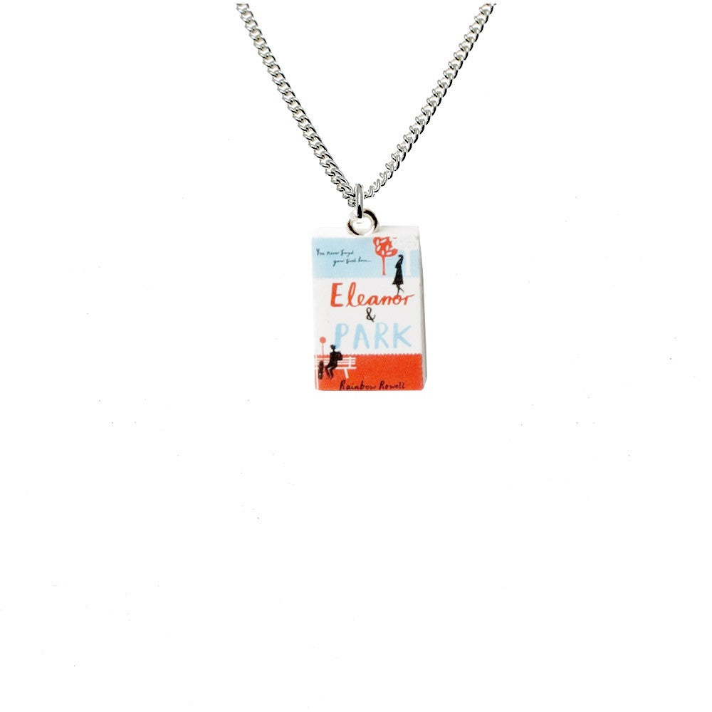 Eleanor and Park Book Necklace