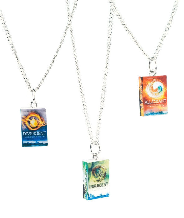 Divergent Trilogy Book Necklaces