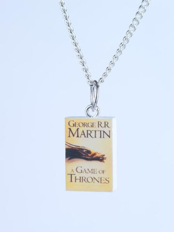 Game of Thrones Book Necklace