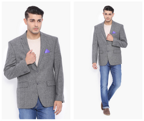 Grey Wool Jacket