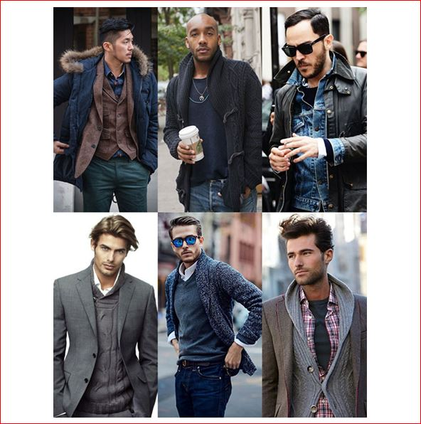 Mens Everyday fashion - layering your cloth