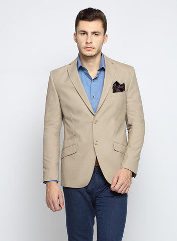 Beige Men's Suit at SuitLimited