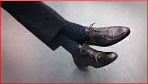 socks wearing tips for men's formal wears