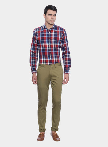 Brown Men's Chino Pants (PT0069/70)