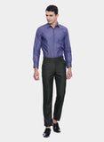 Dark Grey  Solid Men's  Trouser (PT0063)