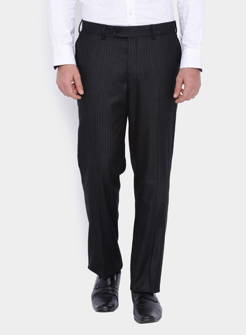 Navy Stripe Men's Shawl Tuxedo Suit (2051)