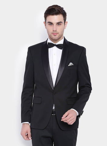 Black Luxe Men's Tuxedo Jacket (2003)