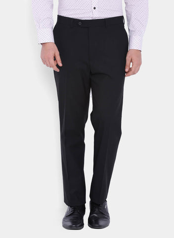Black Jacquard Poly Viscose Men's Suit (2007)