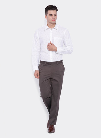 Brown PV Stripe Men's Trouser (2055)