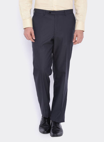 Charcoal Grey Micro Stripe Men's Trouser (2047)