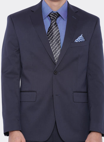 Dark Blue Pinstripe Men's Jacket (2010)