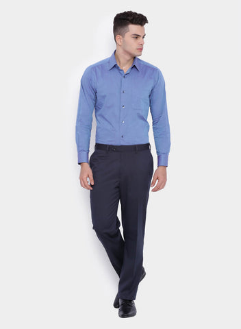 Dark Blue Pinstripe Men's Trouser (2010)