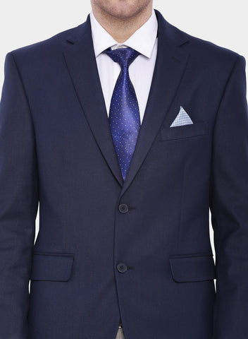 Dark Navy  Plain Men's Jacket (JT0212)