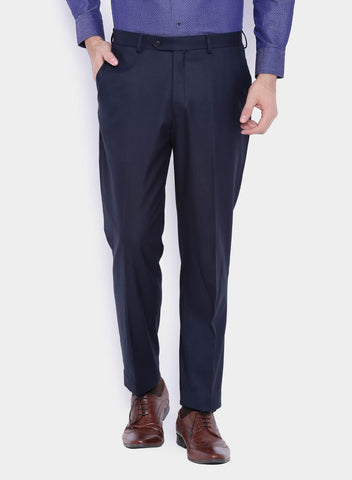 Dark Navy Plain Men's Trouser (2004)