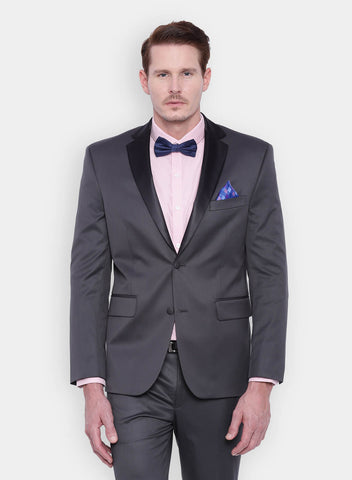 Grey Men's Tuxedo Jacket (2000)