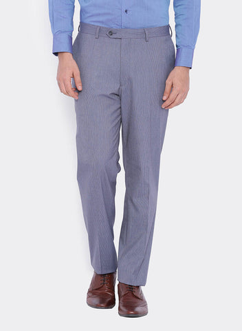 Grey Woven Stripe Men's Trouser (2014)