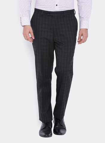Grey and Black Check Men's Trouser (2011)