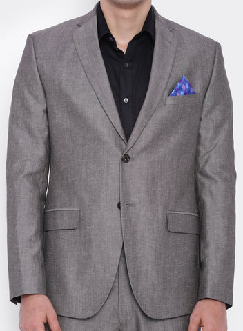 Grey Linen Men's Jacket (2052)