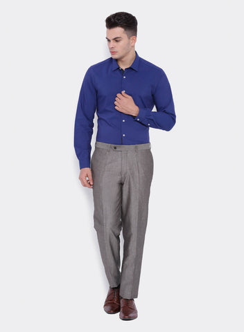 Grey Linen Men's Trouser (2052)