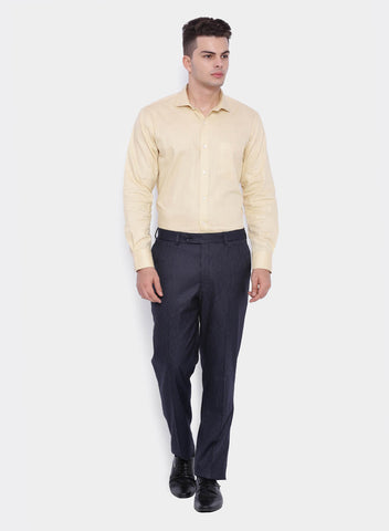 Navy and Beige Stripe Men's Trouser (2051)