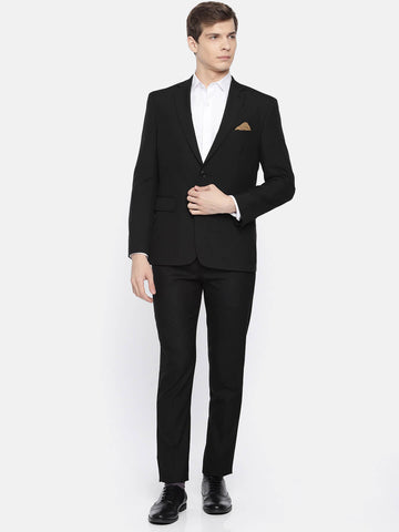 Black Plain Men's Suit (ST0124)