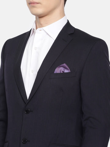 Dark Navy Solid Men's Suit (ST0105)