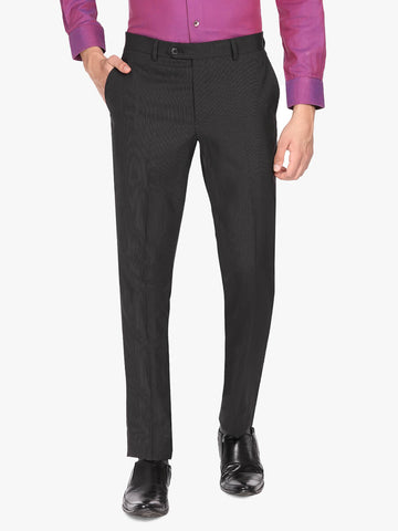 Black Wool Men's Trouser (PT0121)