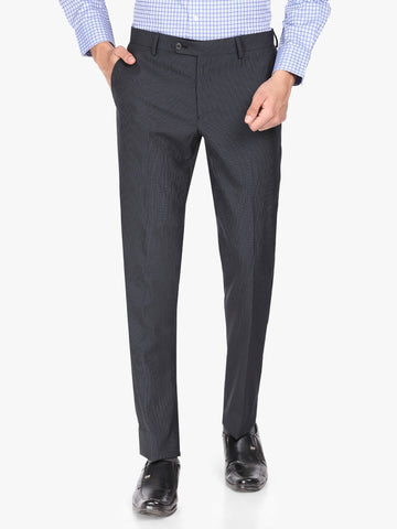 Black Pin Stripe Men's Trouser (PT0126)
