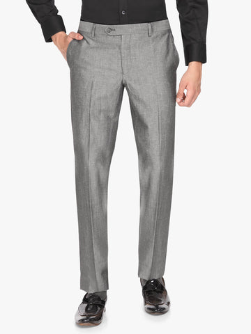 Grey Linen Men's Trouser (PT0120)