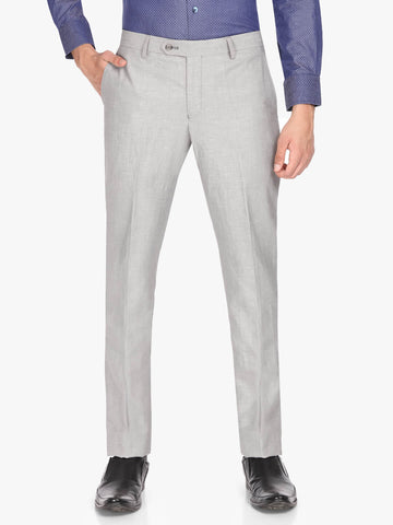 Grey Linen Men's Trouser (PT0117)