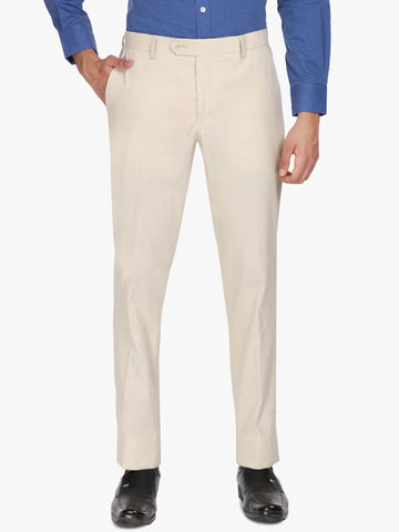 Tan Linen Men's Trouser (PT0101)