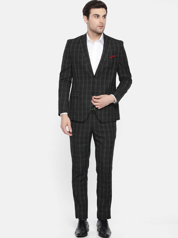 Black Prince of Wales Men's Suit (ST0113)