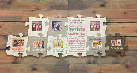Puzzle Frames Interconnectable Wall Decor Photo Frames And Gifts