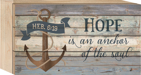 Hope is an Anchor Tabletop Sign - PuzzleMatters