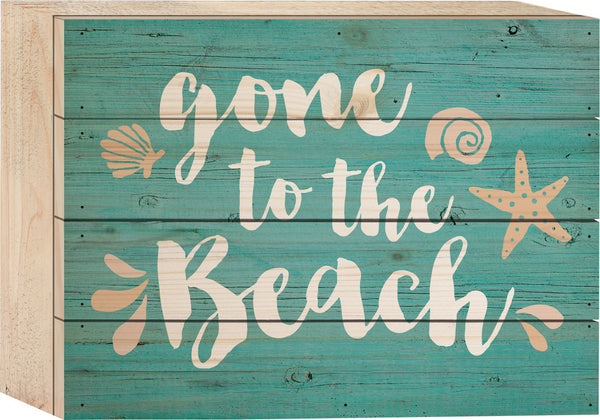 Gone to the Beach Tabletop Sign - PuzzleMatters