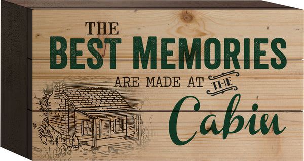 Best Memories Tabletop Sign - PuzzleMatters