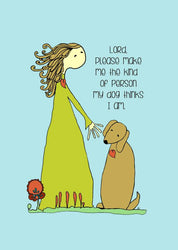 Dog Lover - Amy Clark Art Print