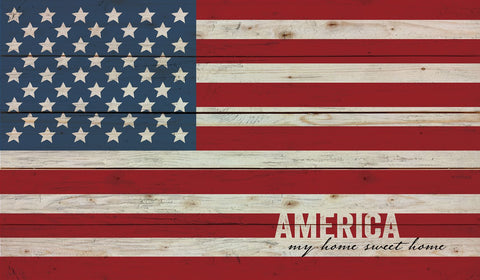 America Pallet Wall Decor - PuzzleMatters