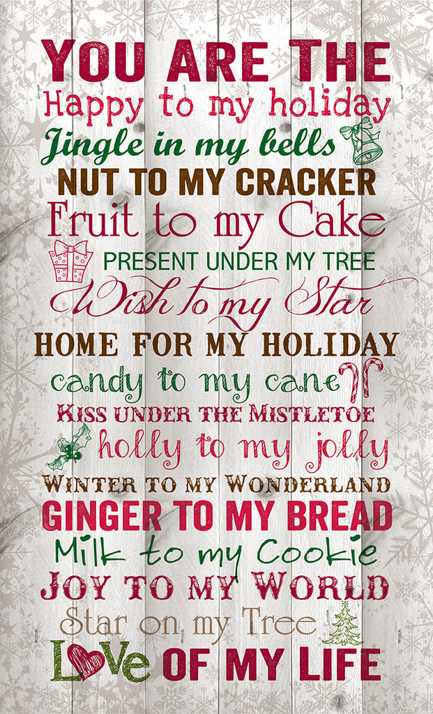 You are the christmas wall decor puzzlematters for Christmas decoration quotes