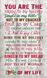 You are the Christmas Wall Decor - PuzzleMatters