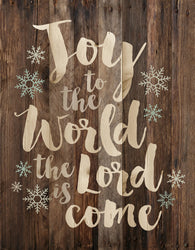 Joy to the world Christmas Wall Decor - PuzzleMatters