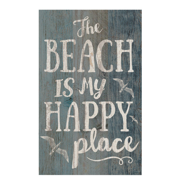 The Beach is my Happy Place Pallet Wall Decor