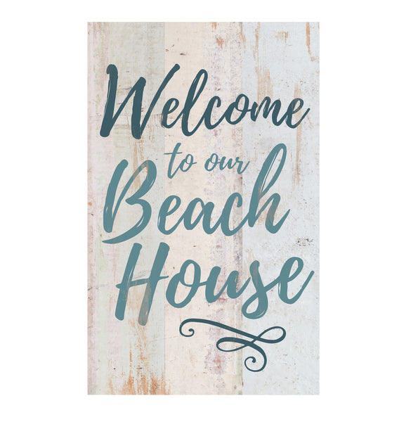 Welcome to our Beach House Pallet Wall Decor