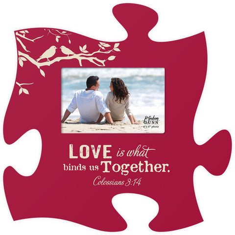 Love Is Spiritual Puzzle Photo Frame - PuzzleMatters