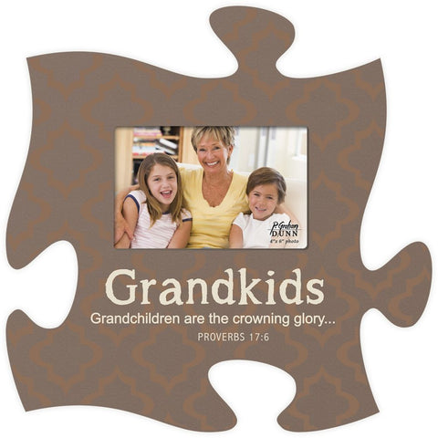 Grandchildren Spiritual Puzzle Photo Frame - PuzzleMatters